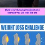 Build Your Running Muscles home exercise You will look like pro